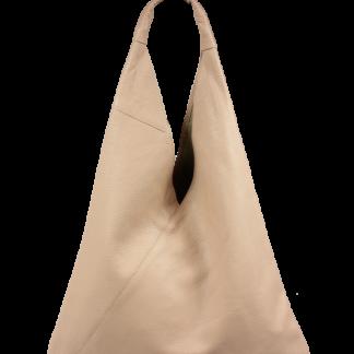 Růžová dámská kožená kabelka Alma Rosa Vecchia