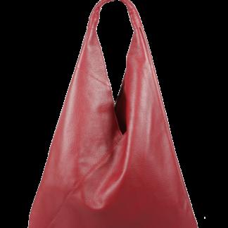 Červená kabelka přes rameno Alma Rossa Scura