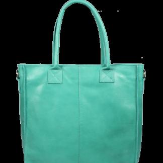 Italská kožená kabelka Fausta Turchese