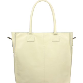 Italská kožená kabelka Fausta Beige