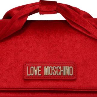 Love Moschino Kabelka 'BORSA VELVET ROSSO' červená