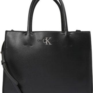 Calvin Klein Kabelka 'SATCHEL' černá
