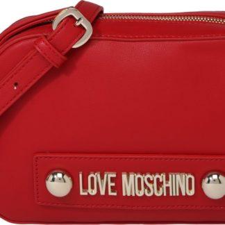 Love Moschino Kabelka 'BORSA NATURAL GRAIN PU ROSSO' červená