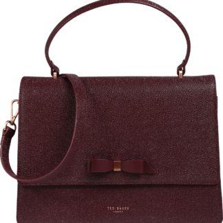 Ted Baker Kabelka 'joaan bow detail lady bag' kaštanově hnědá / krvavě červená