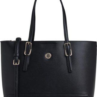 TOMMY HILFIGER Nákupní taška 'Honey' černá