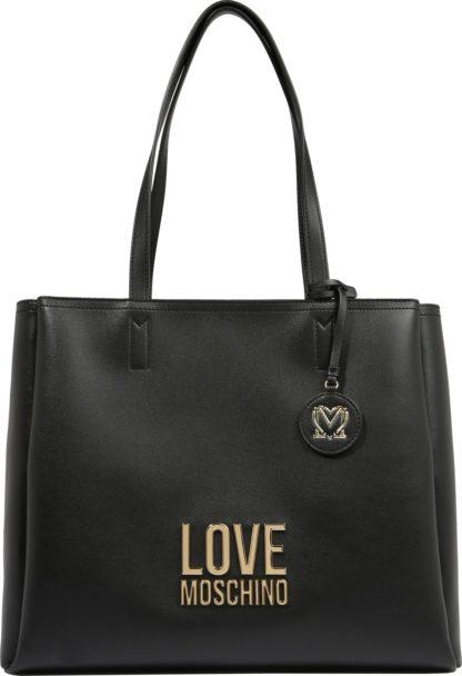 Love Moschino Kabelka černá / zlatá